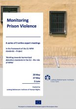 Monitoring Prison Violence: A series of 3 online expert meetings, Part 1